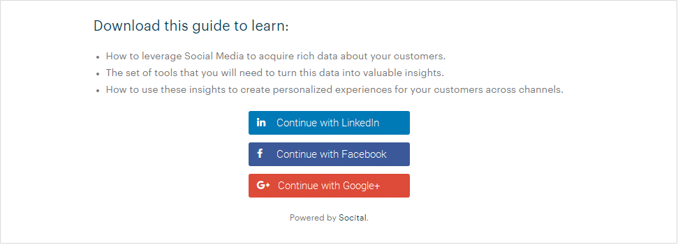 landing page to download our Guidelines for Rockstar Ecommerce Leaders