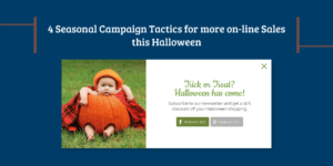 e-commerce tactics for Halloween to increase online sales infographic
