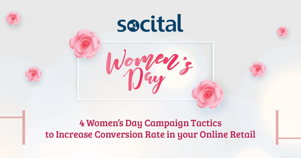 Women's Day e-commerce tactics infographic