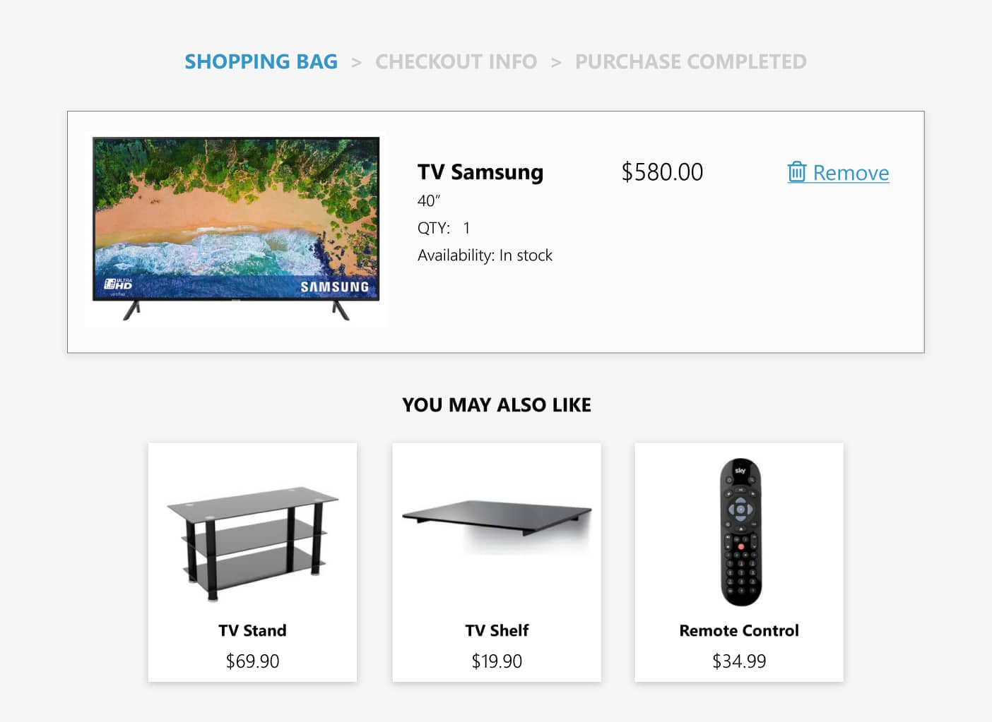 product recommendations based on the purchase history