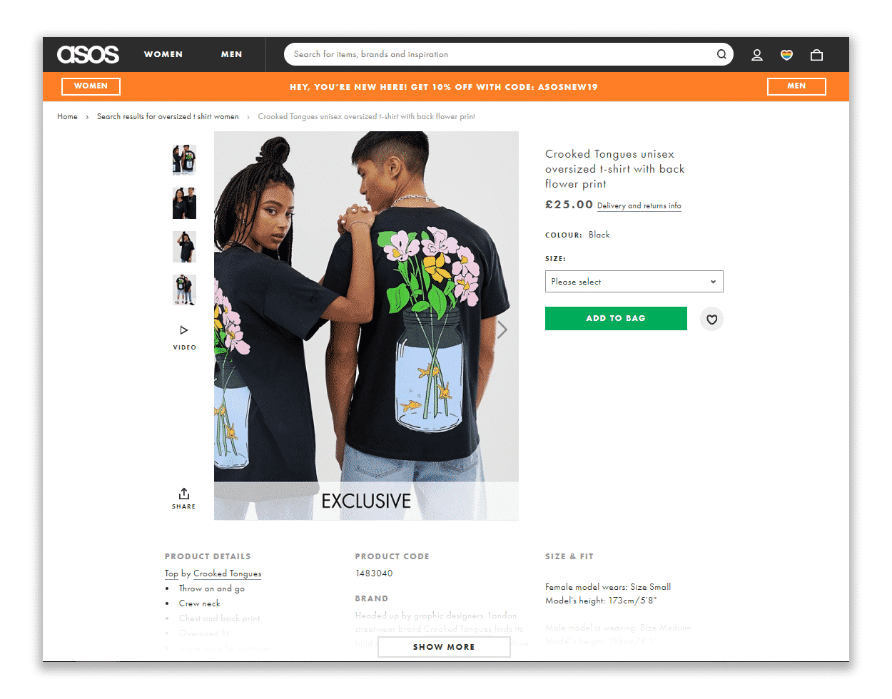 well-written text blocks in your product description