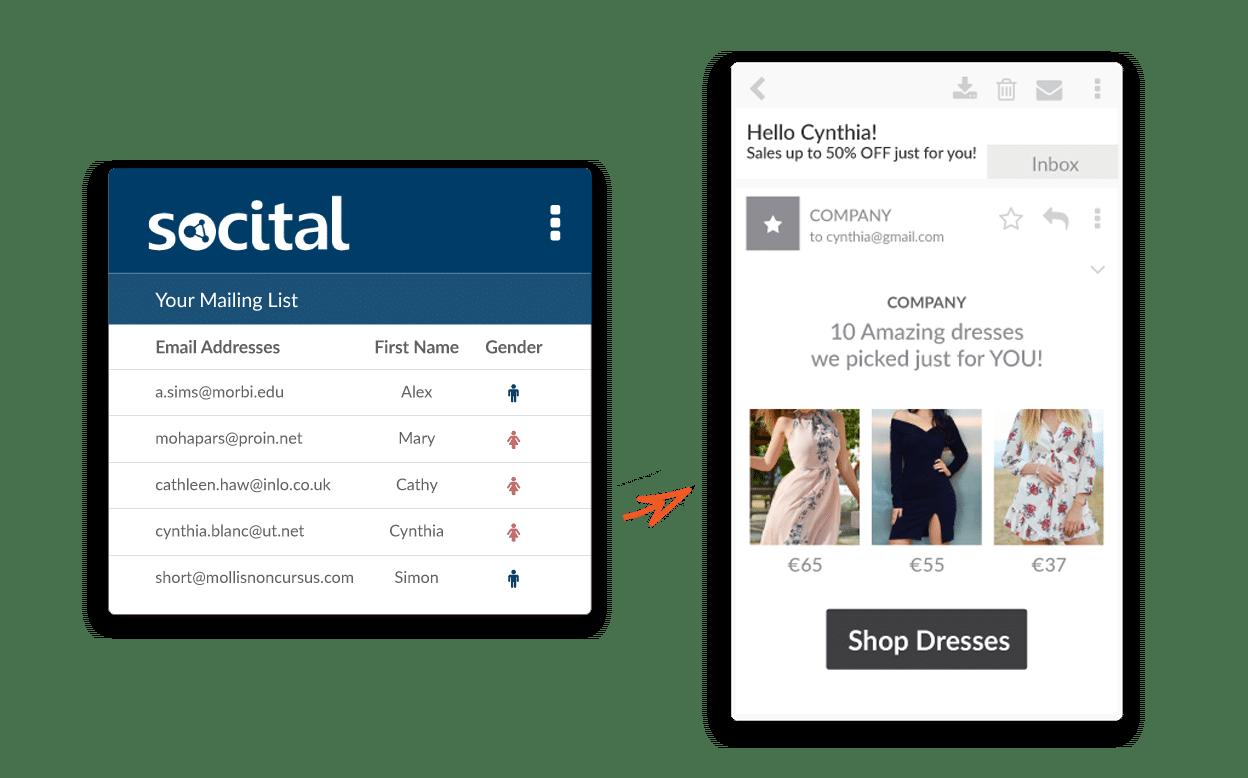 analyze email database