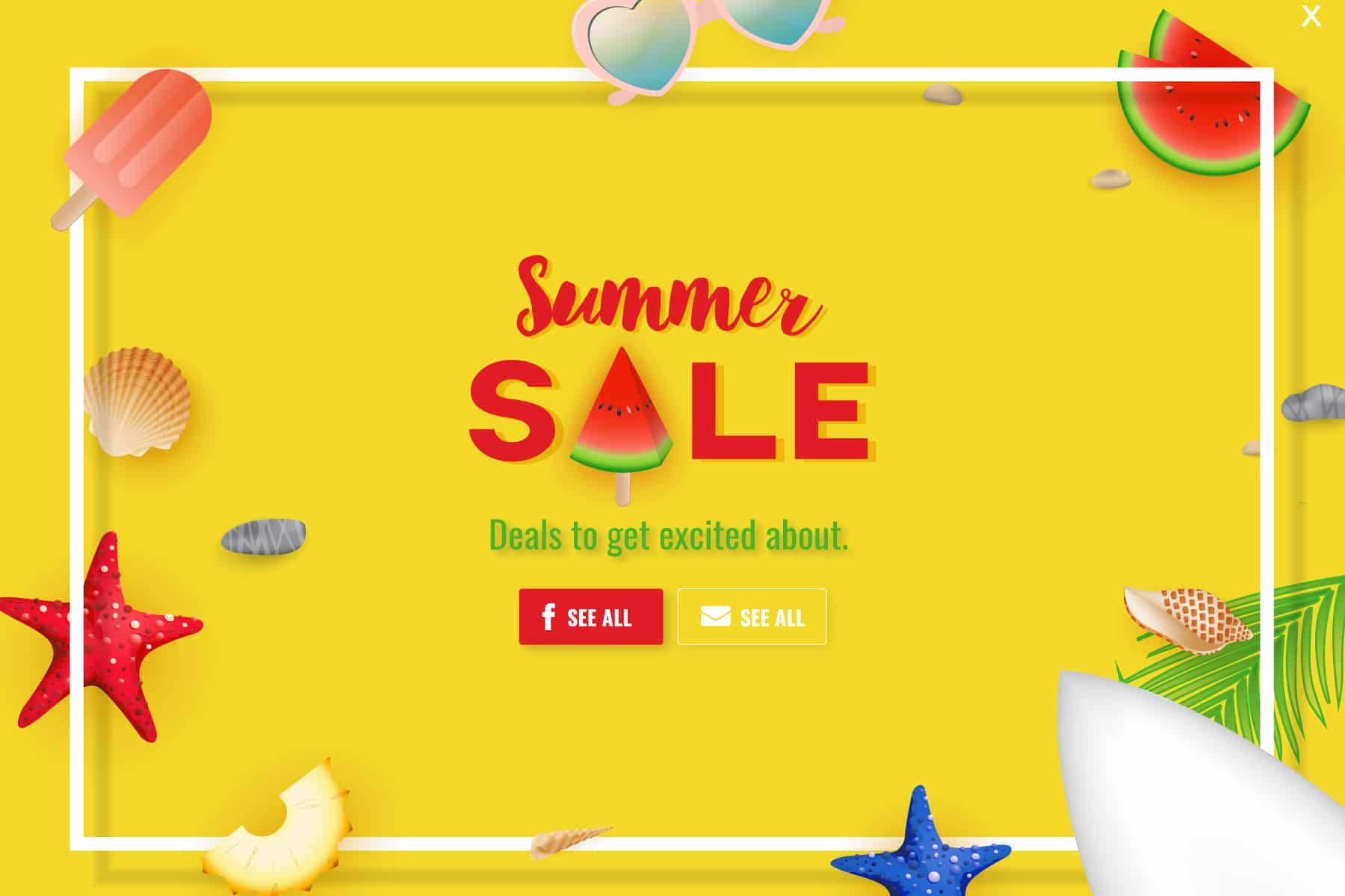 summer sales campaign