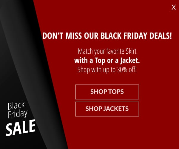 Black Friday cross-sell onsite campaigns