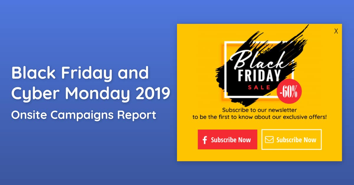 Black Friday & Cyber Monday 2019 report