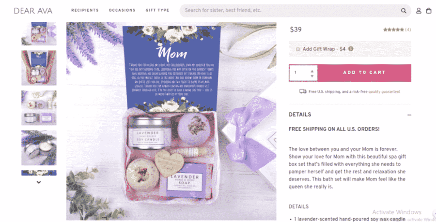 Mother's Day coupon with discount