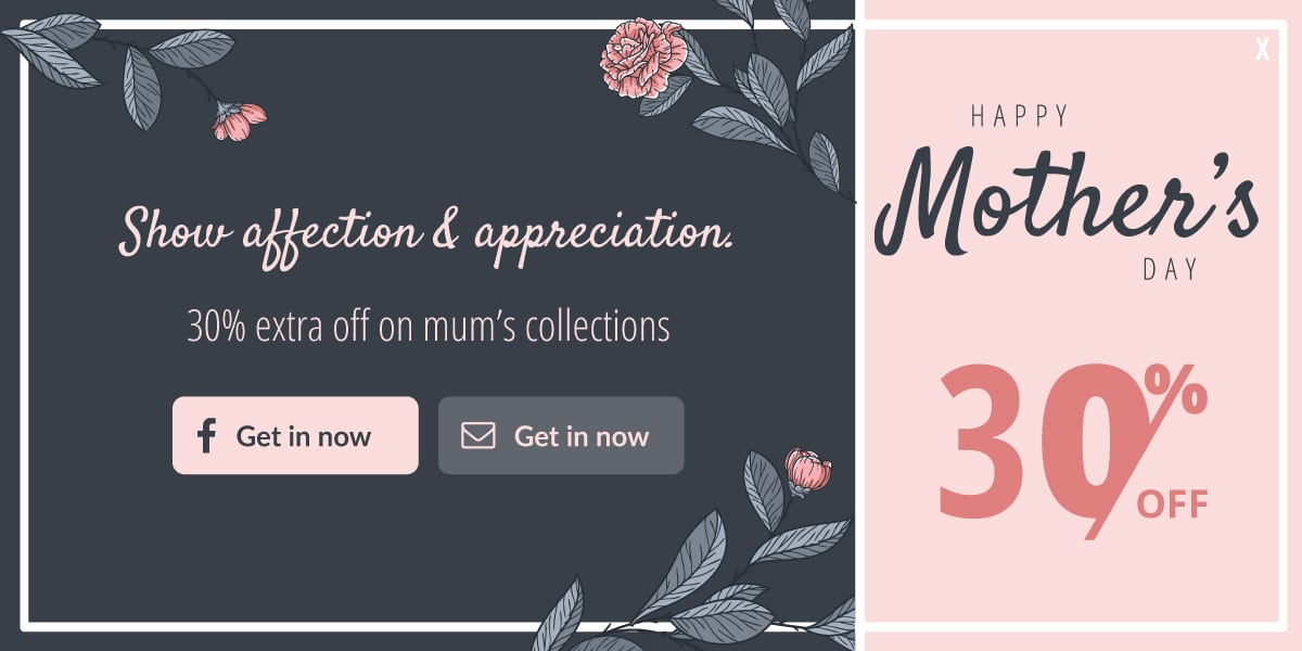mothers day popup