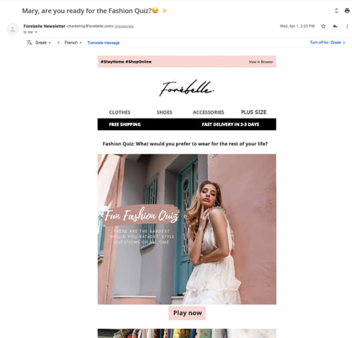 personalize email campaigns