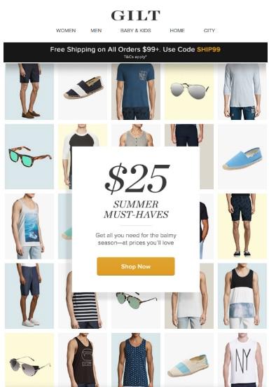 email marketing ideas for summer season