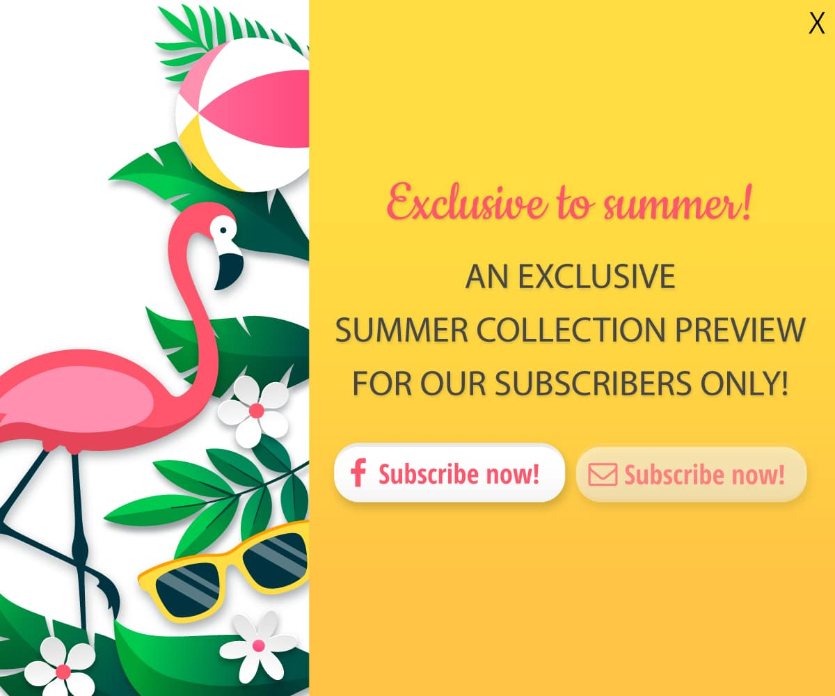 Exclusive to summer!