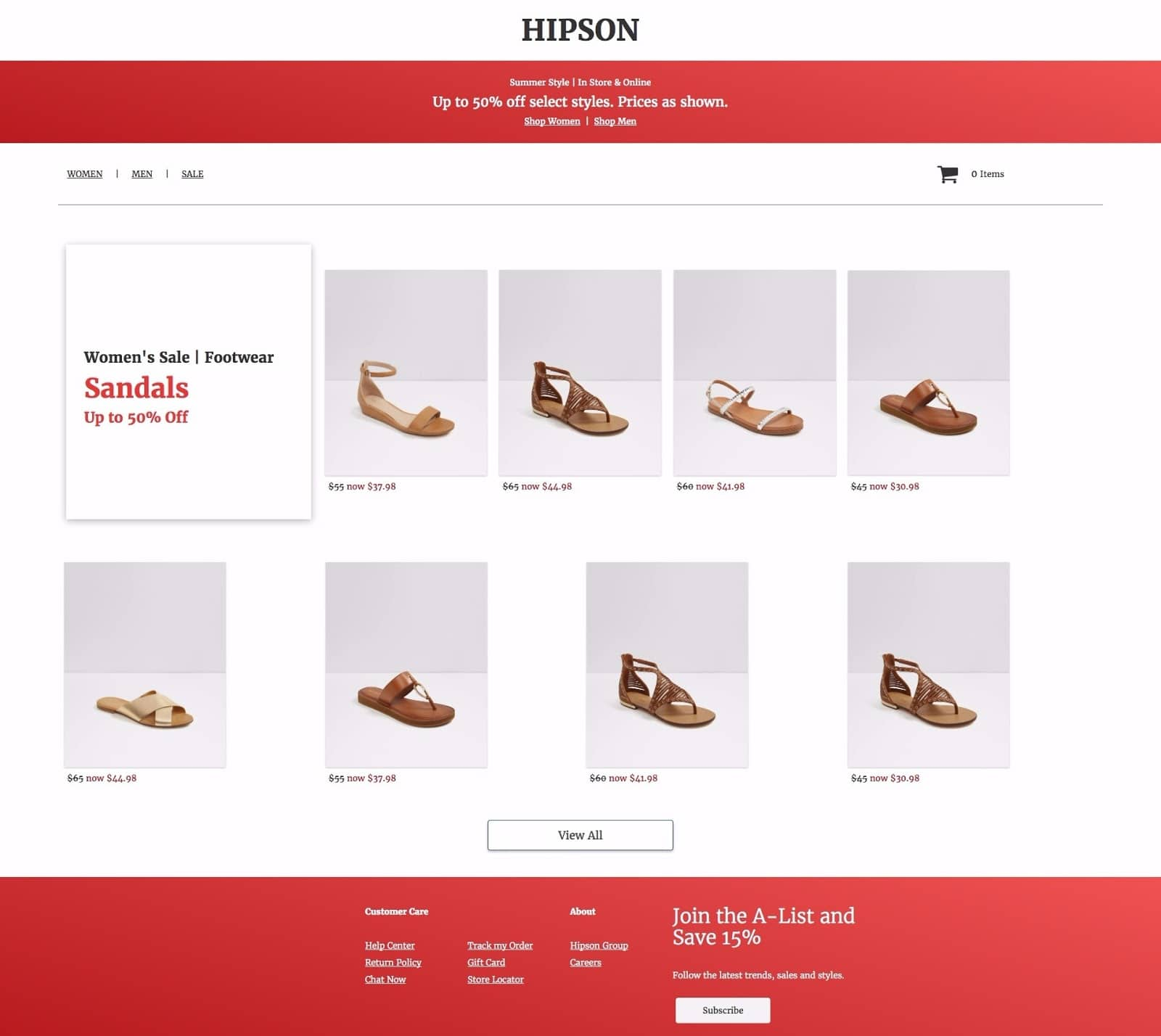 Landing Page to Heat Up Your Sales