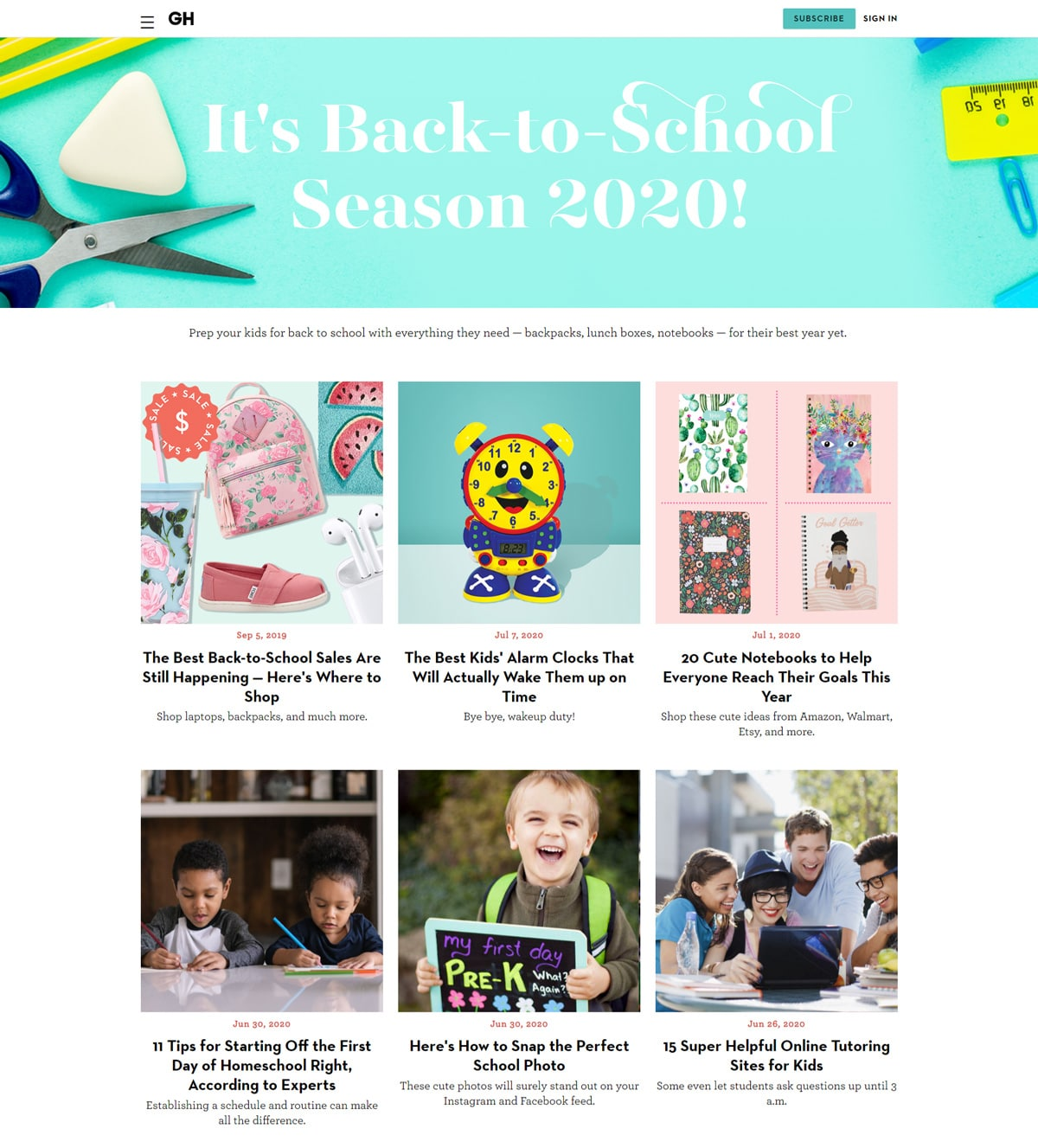back to school ideas posts