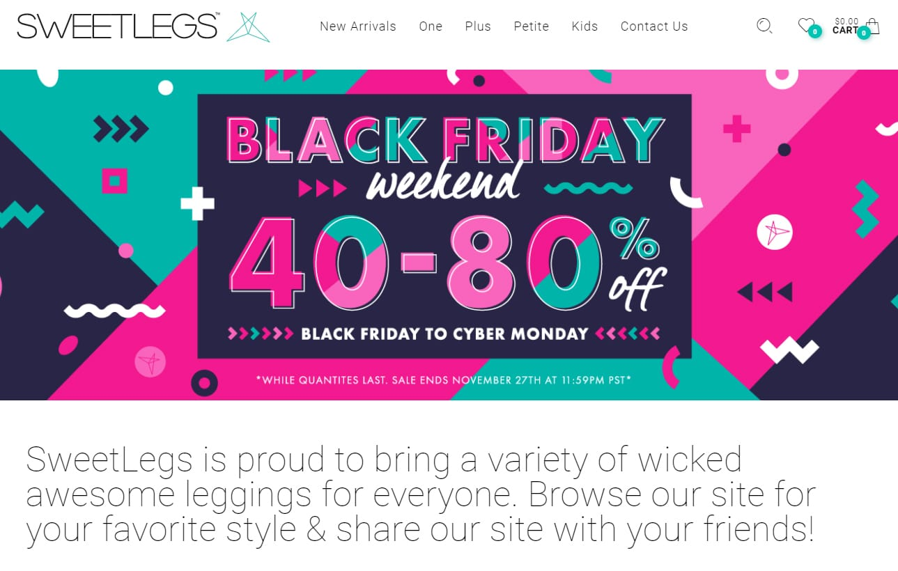 Black friday flash sales