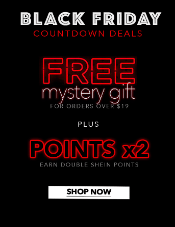 Free gifts with a minimum purchase