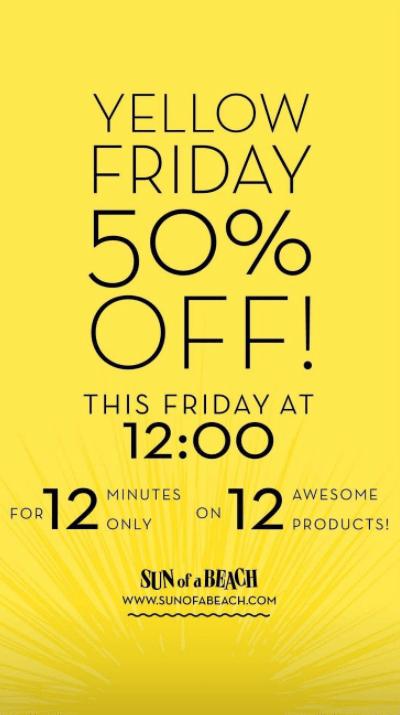 Flash sale black friday