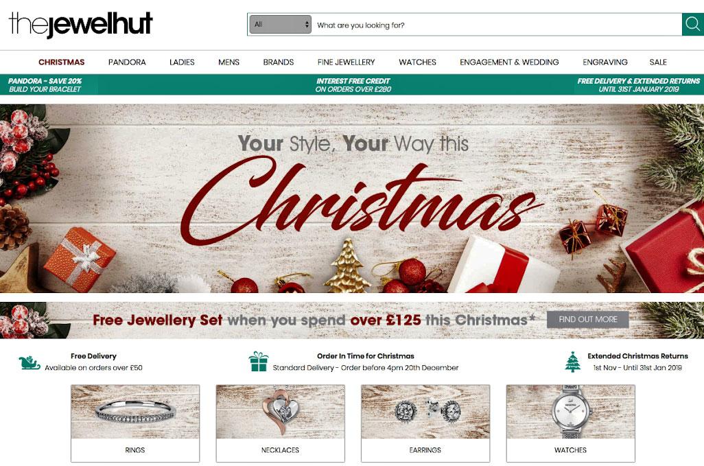 Conversion-friendly site layout