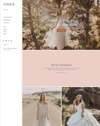 Picking the Shopify Theme and Customising the Store