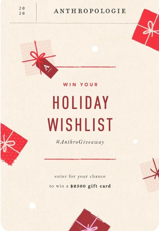 Win Your Wishlist Contest