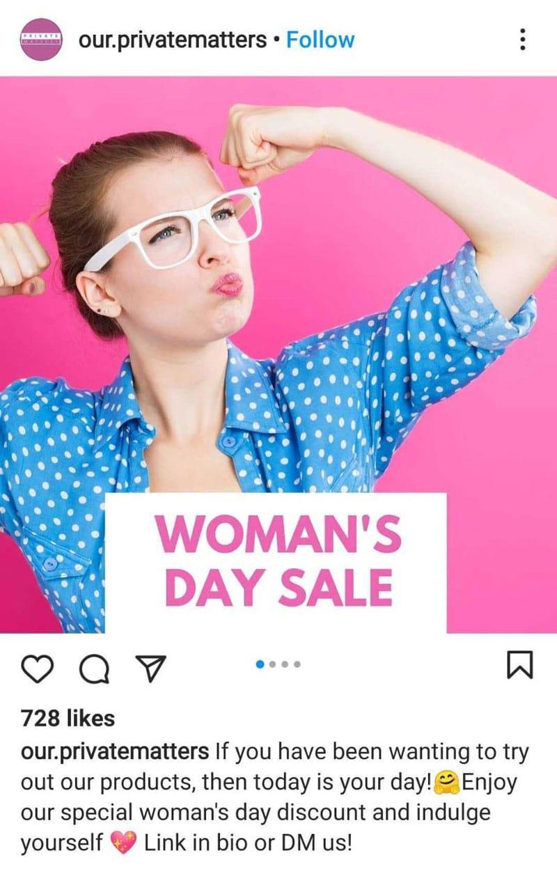 Extend Women's Day