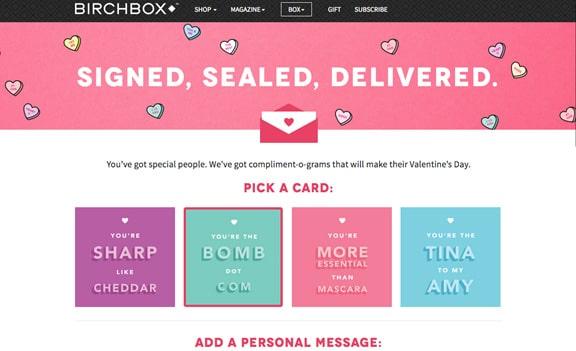 Digital Valentine's Day cards