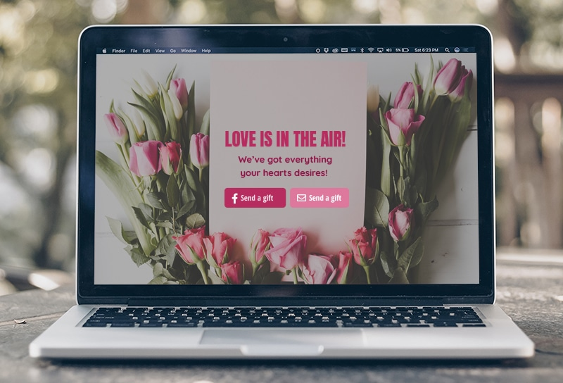 Ecommerce marketing for valentine's day