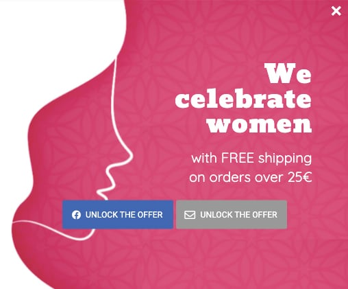 Pop-up Ideas for Women's Day