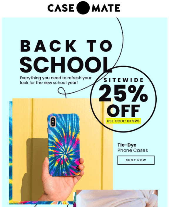 We've put together a selection of points that you can use as inspiration for your back-to-school marketing campaigns and new school year, so let's get down to business.